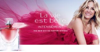 Gratis staaltje parfum La vie est belle van Lancôme