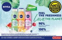 Nivea Fresh Blends douchegel 100% terugbetaald bij Kruidvat