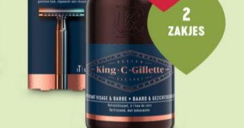 King C Gillette scheerapparaat of huidverzorging 100% terugbetaald