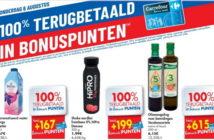 100% terugbetaalde producten bij Carrefour op 6 augustus 2020