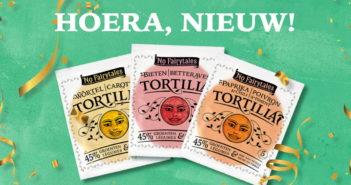 Tortillas No Fairytales 100% terugbetaald