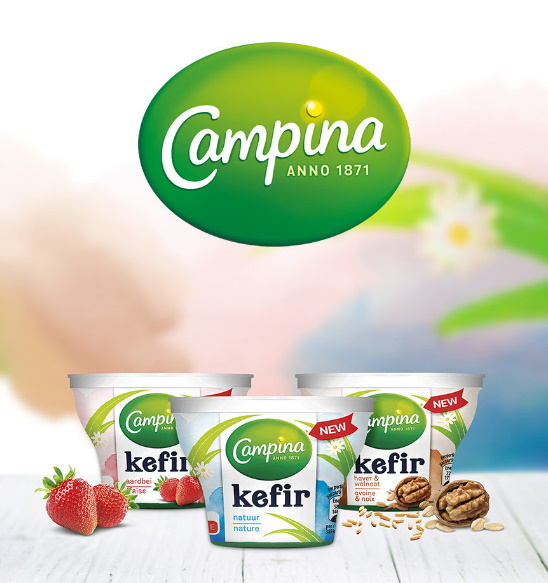 Campina kefir yoghurt 100% terugbetaald met Shopmium