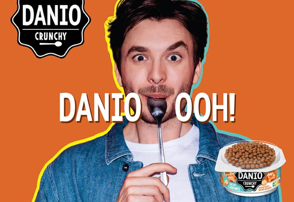 Danio Crunchy Salted Caramel 100% terugbetaald