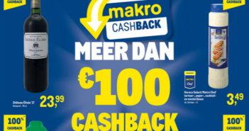 100% terugbetaalde producten bij Makro