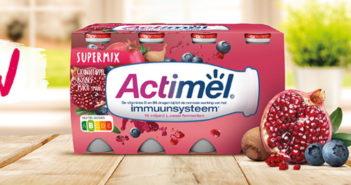Actimel Supermix granaatappel 100% terugbetaald