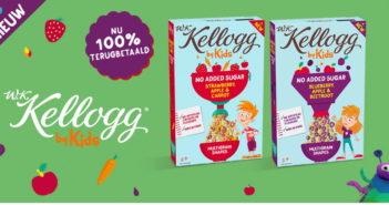 Kellogg ontbijtgranen 100% terugbetaald met myShopi