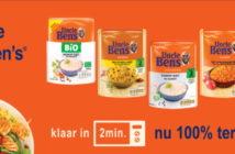 Uncle Ben's rijst 100% terugbetaald