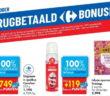 100% terugbetaalde producten bij Carrefour op 22 oktober 2020