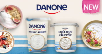 Danone yoghurt of cottage cheese 100% terugbetaald