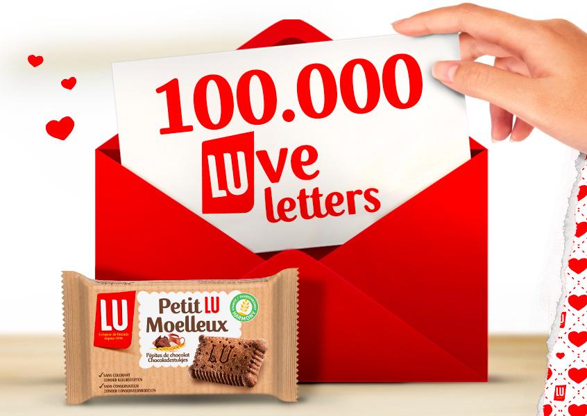 Gratis Valentijnskaart en Lu koekje