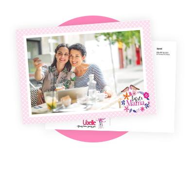 Gratis postkaart met foto voor Moederdag