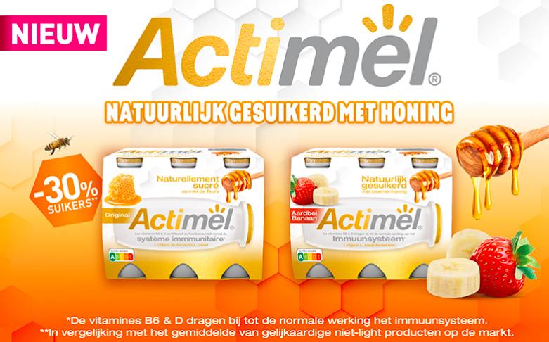Actimel met honing 100% terugbetaald