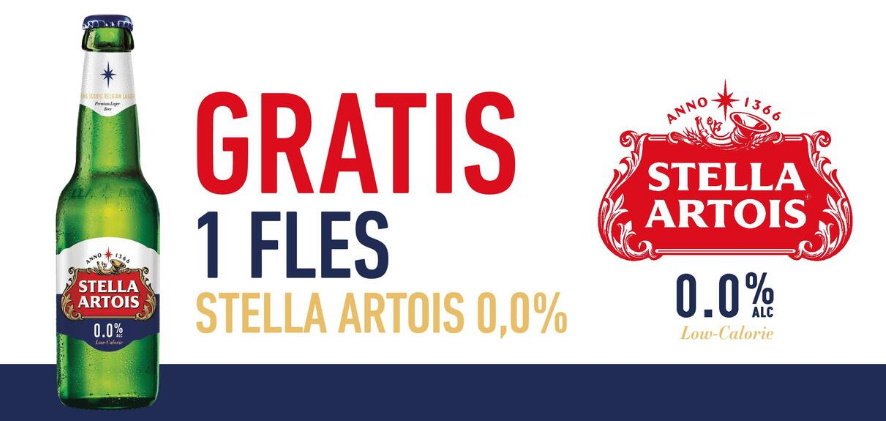 Stella Artois bier 100% terugbetaald met myShopi