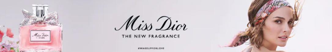 Gratis staaltje eau de parfum Miss Dior